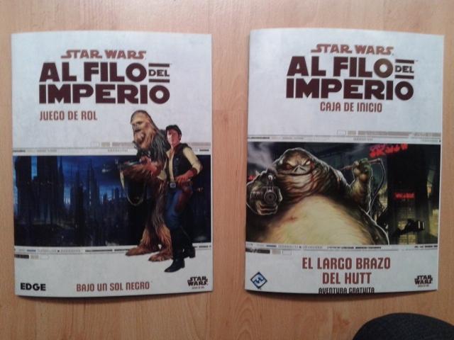 Las dos aventuras de Al Filo del Imperio.