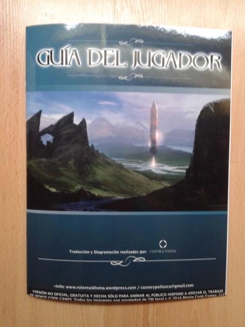 La guía del jugador para Numenéra.