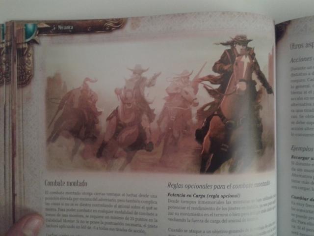 El aspecto western del juego queda patente en ilustraciones como esta.