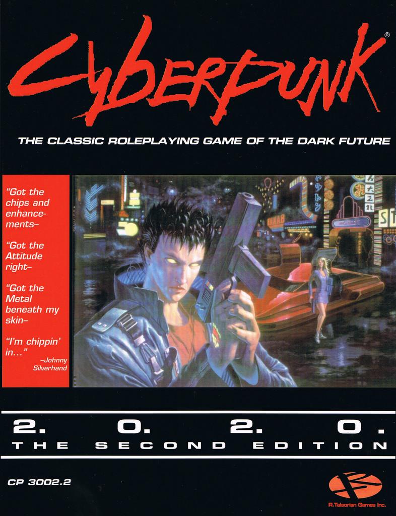 Portada Cyberpunk 2020
