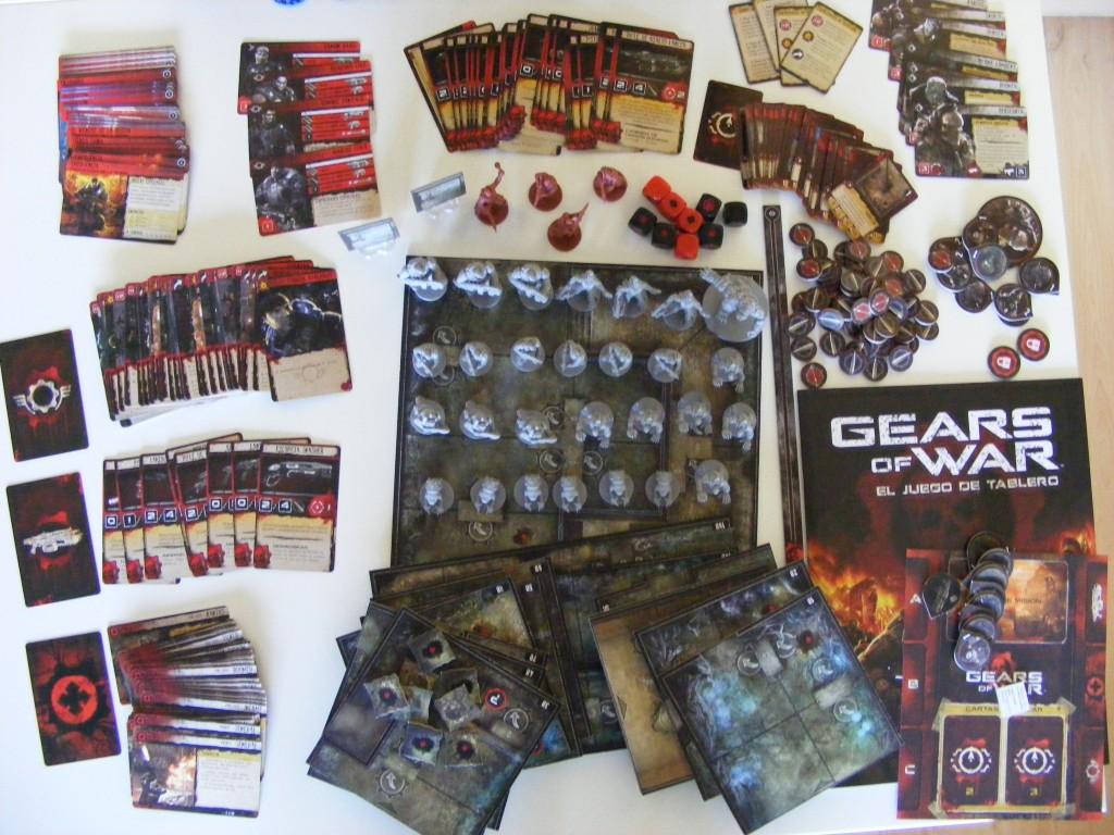 gears of war el juego de mesa jubilados de arkham
