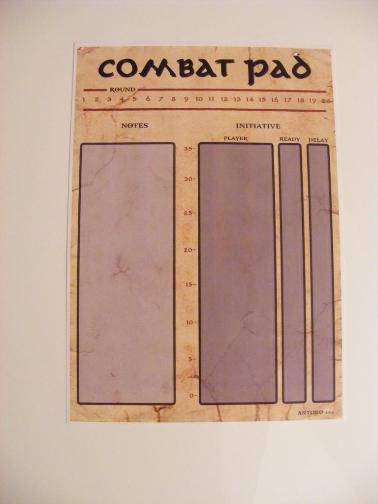 Pegatina Combat Pad.