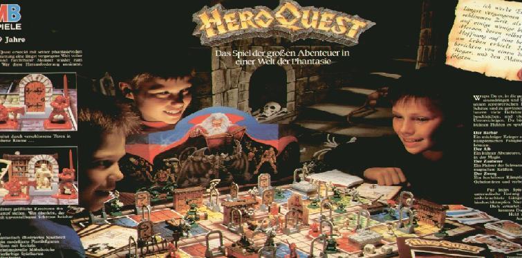 HeroQuest-Boden