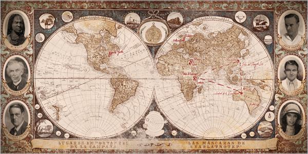 Mapa de Las Máscaras, edición de Edge.