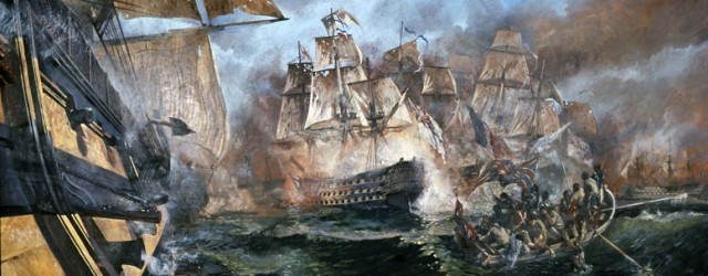 Mural-of-the-Battle-of-Trafalgar-640x250